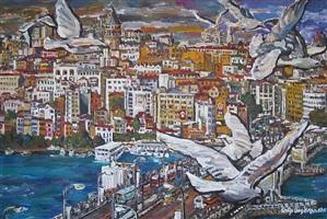 galata, istanbul - 2 by galip özgören