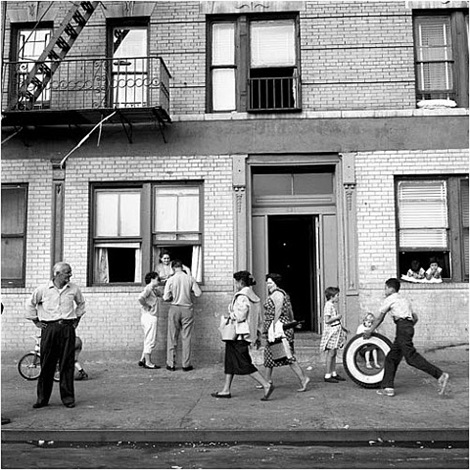september 28, 1959, east 108th st., new york by vivian maier