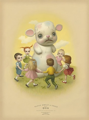 sweat by mark ryden
