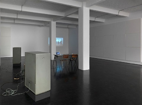 installation view, galerie barbara weiss, berlin by deimantas narkevicius