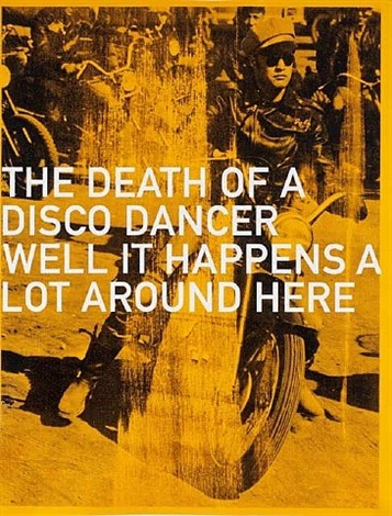brando bike (the death of a disco dancer) by russell young
