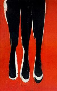 trois fois (rouge) by jean-charles blais