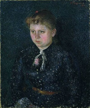 portrait of nini by camille pissarro