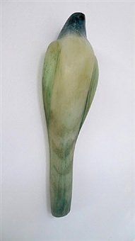 celadon wall bird by jane rosen