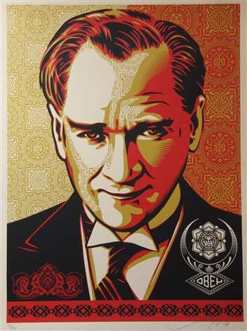 ataturk by shepard fairey