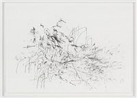 mind breath drawings (3) by julie mehretu