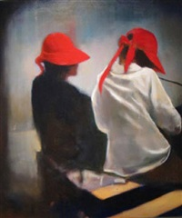 red hats #2 by louis renzoni