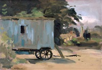 the blue cart by seymour remenick