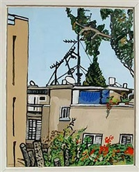 view of tel aviv by david reeb