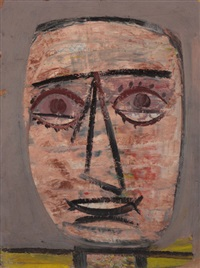 untitled (head) by arshile gorky