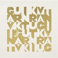 gavint gold by gavin turk
