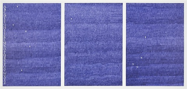 gavin e turk (blue biro) by gavin turk
