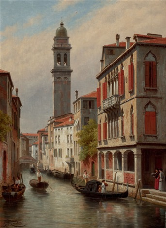 une vue a venise san giorgio dei greci italie by jacques françois carabain