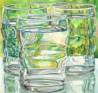 skowhegan water glasses by janet fish