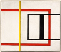 untitled (early geometric) by burgoyne diller