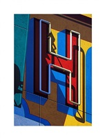 an american alphabet: h by robert cottingham