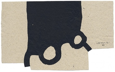 ohne titel by eduardo chillida