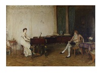if music be the food of love, play on by sir william quiller orchardson