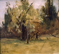 trees (fairmount park) by seymour remenick