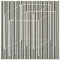 superimposed (study) by julian stanczak