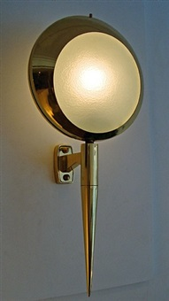 paire d'appliques / pair of wall-lights by stilnovo