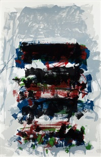 champs (fields) (from the carnegie hall centennial fine art portfolio) by joan mitchell