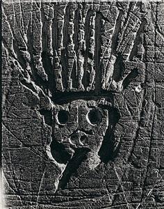graffiti de la série ix, images primitives: le roi soleil by brassaï