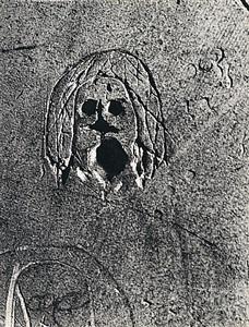 graffiti de la série ix, images primitives by brassaï