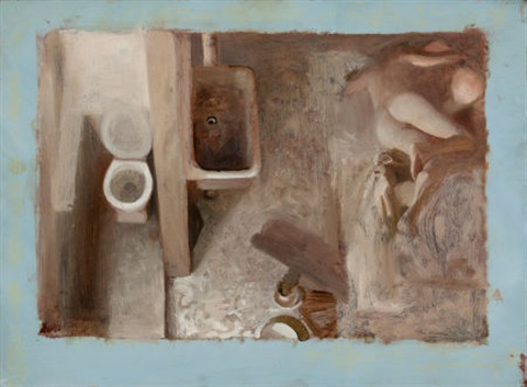 elegy study by vincent desiderio
