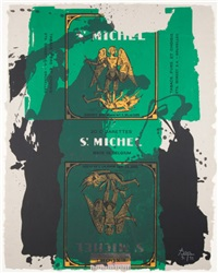 st. michael iii by robert motherwell