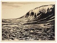 dark wave by shepard fairey