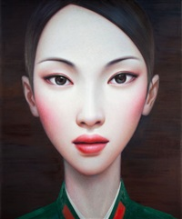 beijing girl (series no. 8) by zhang xiangming