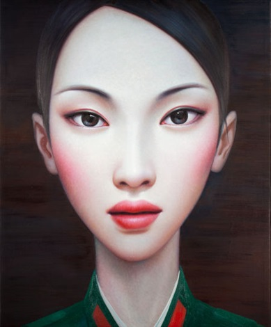 beijing girl series no 8 by zhang xiangming