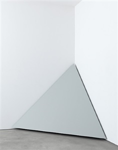 untitled (corner piece) by robert morris
