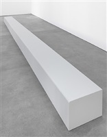 floor piece (bench) by robert morris