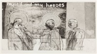 myself and my heroes by david hockney