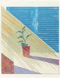 sun (from the weather series) by david hockney