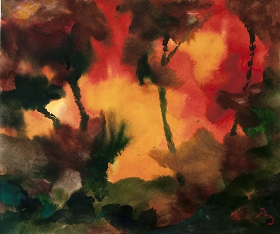 organic abstract by herbert beck