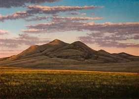 sunset near des moines, nm by jeff aeling