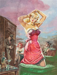 lay down and die!, paperback cover by howell dodd