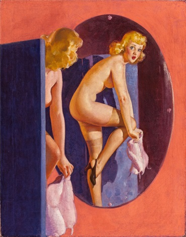 Image result for Louis F. Dow Gil Elvgren