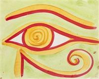 pharonic eye by kenny scharf