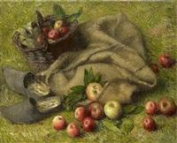 pommes et panier by henry lerolle