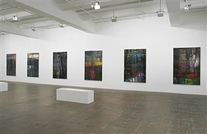 installation view: paintings 2001 – 2005 by gerhard richter
