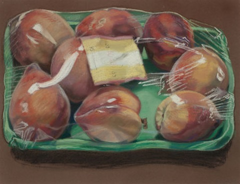 box of peaches by janet fish