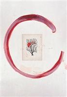 flamingo ii by julian schnabel