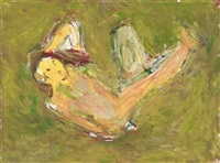 untitled figure study by milton resnick