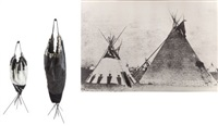 double blackfoot tepee by elaine reichek