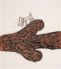 untitled (sniff sniff) by david shrigley and yoshitomo nara