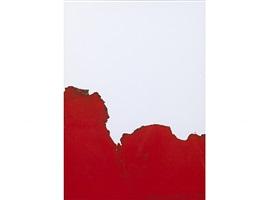 cage rouge de fumée by bernard aubertin